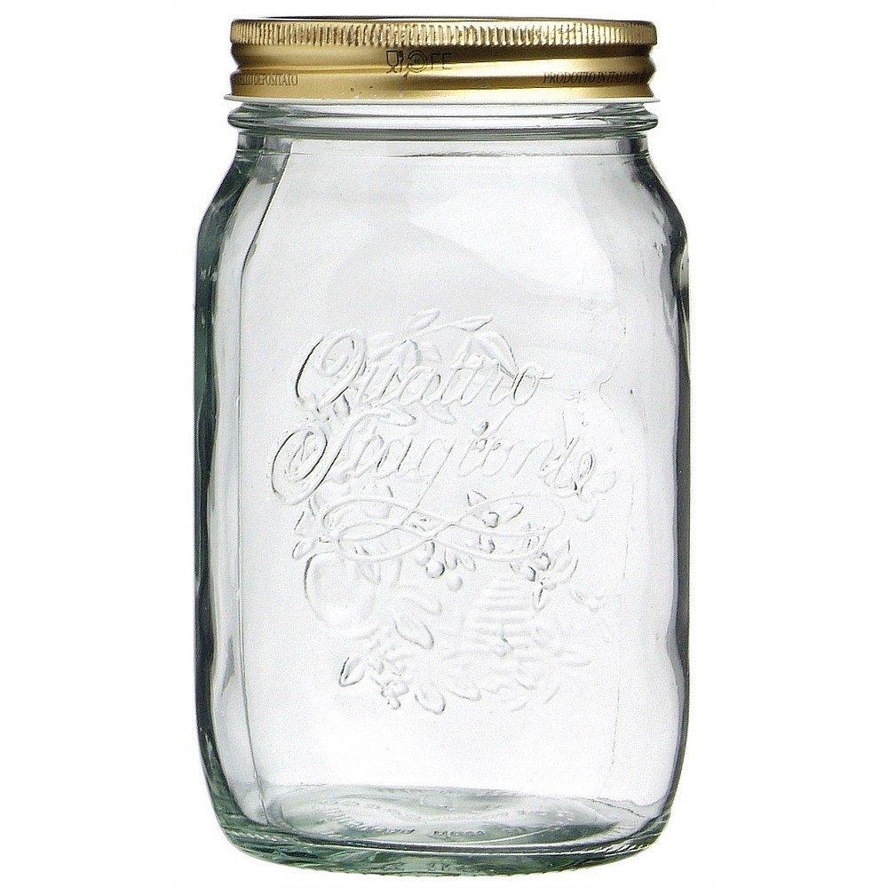 Contenitori Vetro Per Conserve dettagli su vaso quattro stagioni 6 pezzi conserve sottovuoto confetture  vetro varie dime