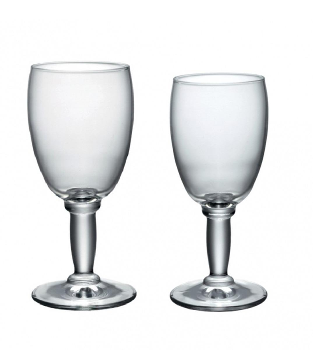 Calici Vino E Acqua set bicchieri calici onyx 12 pezzi 26cl 20cl acqua vino vetro bormioli  rocco giosal