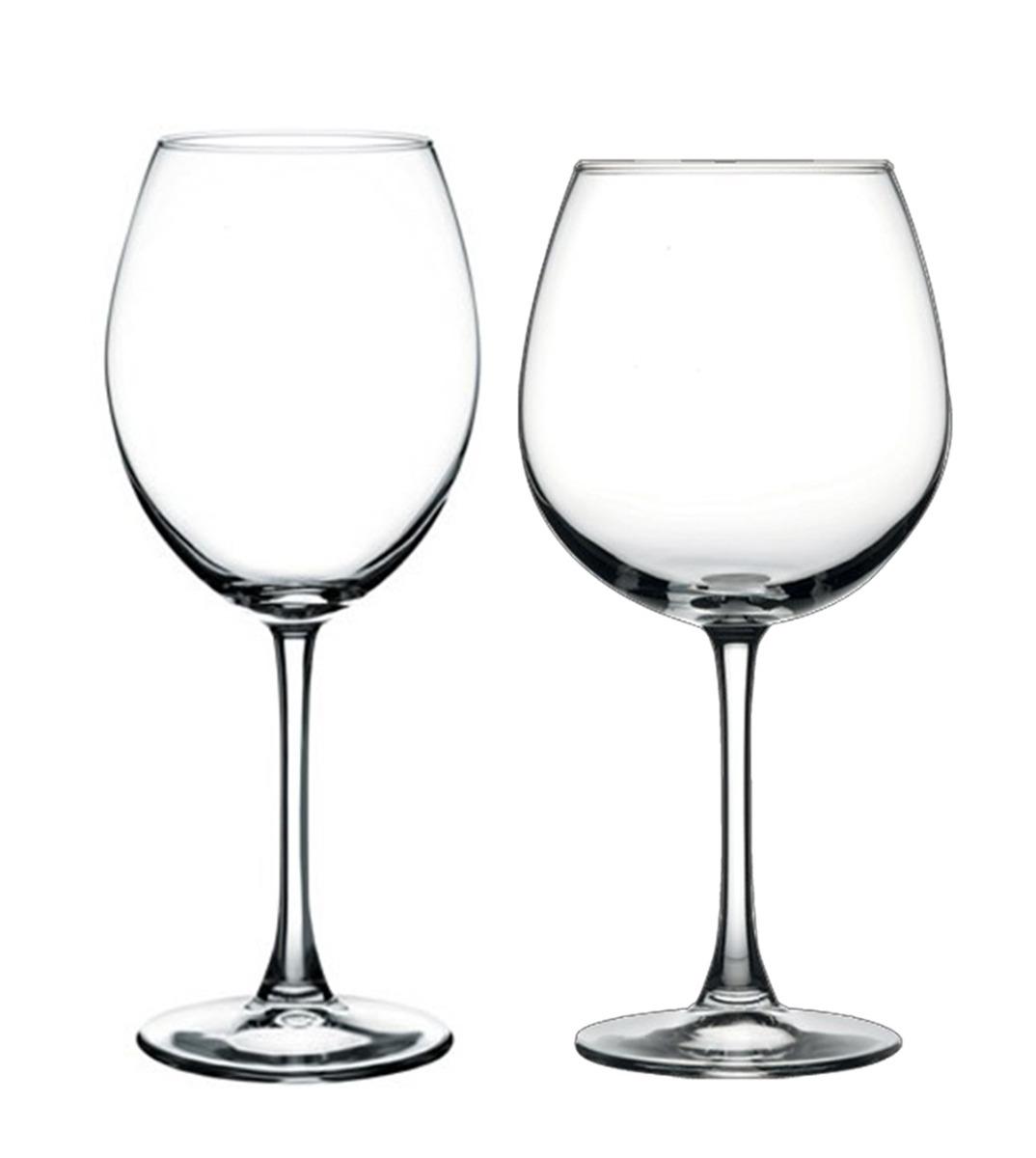 Calici Vino E Acqua set di bicchieri calice enoteca xxl 12 pezzi vino acqua vetro trasparente  pasabahce giosal