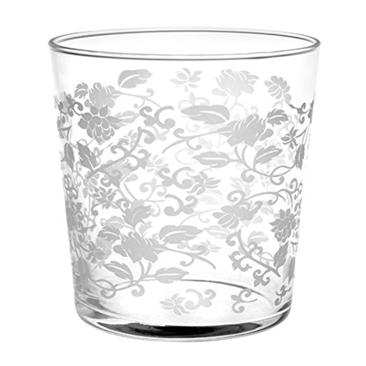 Calici Vino E Acqua set bicchieri 6 pezzi 36cl vetro decorato bicchiere acqua vino giosal