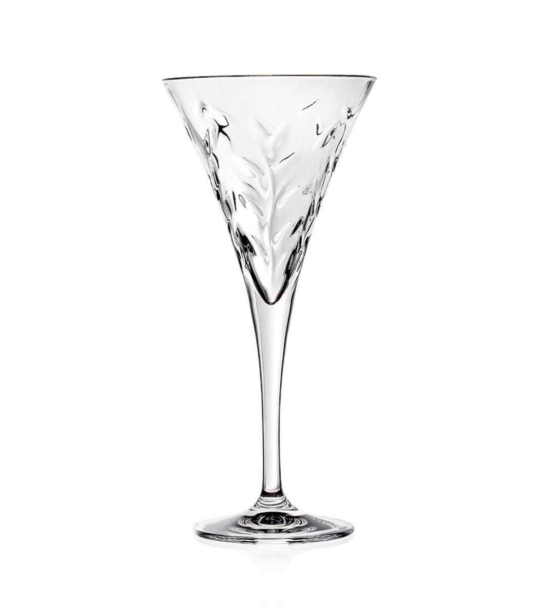 Calici Vino E Acqua set bicchieri calici laurus 6 pezzi acqua vino flute 21cl 17cl 12cl vetro  cristalleria rcr giosal