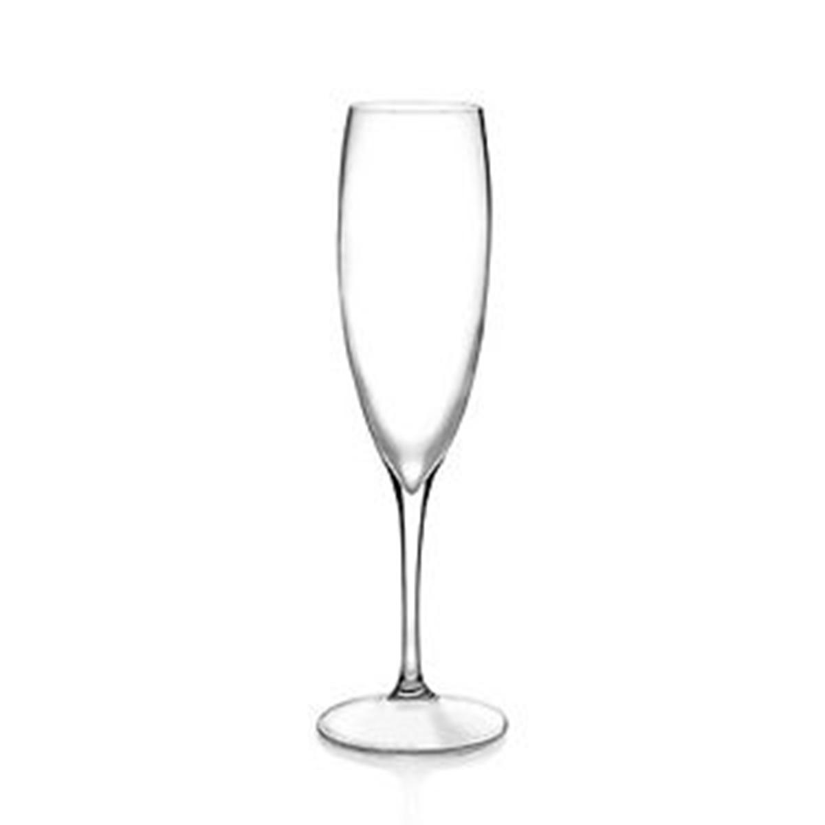 Calici Vino E Acqua set bicchieri calici 6 pezzi rcr cristalleria italiana vetro cristallo  flute vino acqua giosal