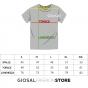 T-Shirt Uomo Maglia Umbro Rossa Girocollo Stampa RAP00039B GIOSAL