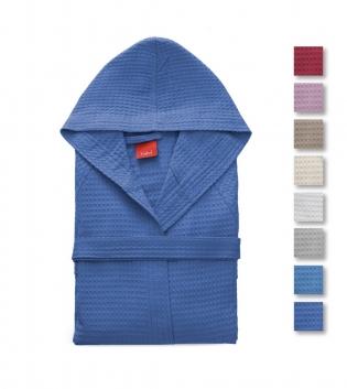 Accappatoio Nido D'Ape Golf Gabel Tinta Unita Vari Colori Adulto 250 gr/mq Cotone GIOSAL