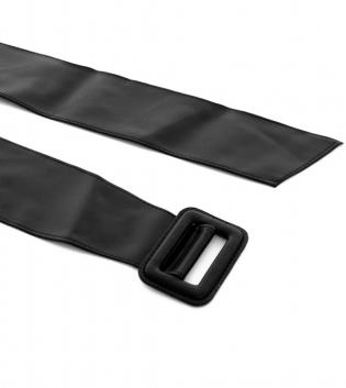 Cintura Donna Alta Tinta Unita Nera Regolabile Accessori GIOSAL