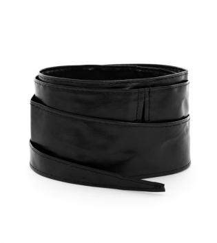 Cintura Donna Alta Tinta Unita Nera Accessori GIOSAL