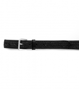 Cintura Donna Marsupio Paglia Tinta Unita Nero Accessori GIOSAL