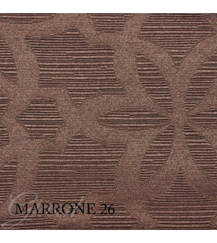 Tessuto Rivestimenti Al Metro Arabesque Arredo Tendaggi Vari Colori Floreale GIOSAL-Marrone-Al-metro
