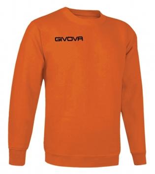 New Maglia Girocollo Givova One Uomo Donna Bambino Sport Relax Unisex GIOSAL-Arancio-3XS