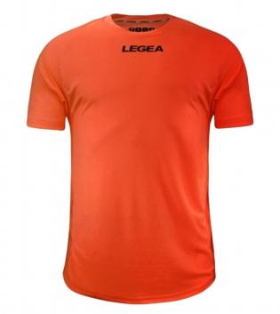 Maglia Calcio Sport LEGEA Crimea Abbigliamento Uomo Bambino Sportivo Calcistico GIOSAL-Arancio Fluo-2XS