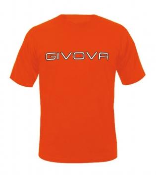 New T-Shirt Spot GIVOVA Free Time Uomo Donna Bambino Sport Unisex GIOSAL-Arancio Fluo-4XS