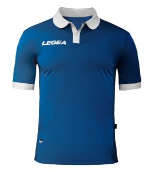 Maglia Uomo LEGEA Calcio Abbigliamento Sportivo Vintage Gold Uomo Bambino GIOSAL-Azzurro-Bianco-3XS