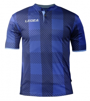 Maglia Uomo LEGEA Sport Calcio Oporto Abbigliamento Sportivo Calcistico Uomo Bambino GIOSAL-Blu-Azzurro-S