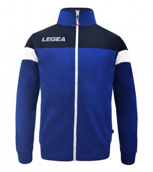 Felpa Uomo Bolivia Full Zip LEGEA Abbigliamento Sportivo Uomo Bambino GIOSAL-Azzurro-Blu-3XS