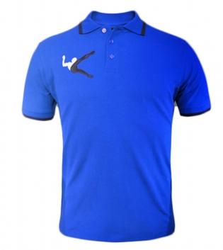 Polo Olimpia LEGEA Abbigliamento Sportivo Free Time Sport Uomo Bambino GIOSAL-Azzurro-Blu-3XS