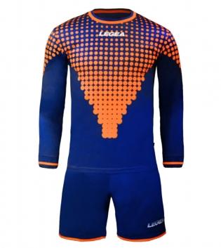 Kit Uomo Calcio Portiere LEGEA Allianz Sport Uomo Bambino Sportivo Abbigliamento GIOSAL-AzzurroFluo-Arancio-M