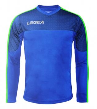 Maglia Uomo Calcio Sport Atene Legea Abbigliamento Sportivo Uomo Bambino GIOSAL-Azzurro-VerdeFluo-2XS