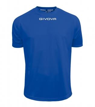 Maglia Calcio Sport GIVOVA One T-Shirt Uomo Donna Bambino Maglietta Abbigliamento Sportivo GIOSAL-Azzurro-4XS