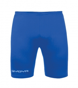 New Bermuda Skin GIVOVA Pantaloni Corti Training Sport Comfort Relax GIOSAL-Azzurro-S