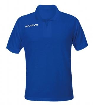 Polo Summer GIVOVA Uomo Maglia Uomo Donna Bambino Unisex Sport Comfort Relax GIOSAL-Azzurro-4XS