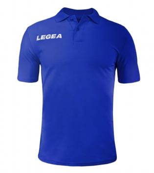 Polo Uomo LEGEA Sud Gold Maniche Corte Uomo Bambino Abbigliamento Sportivo GIOSAL-Azzurro-5XS
