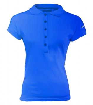 Polo Donna Legea Sud Silver Manica Corta Woman Abbigliamento Sportivo GIOSAL-Azzurro-S