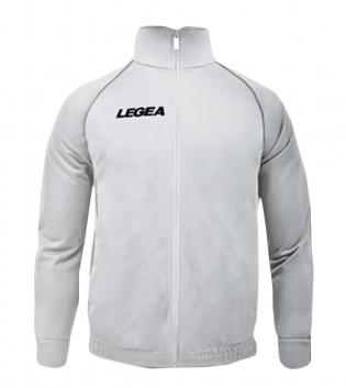 Felpa Uomo LEGEA Florida Color Senior Sport Uomo Bambino Sportivo Relax GIOSAL-Bianco-Argento-5XS