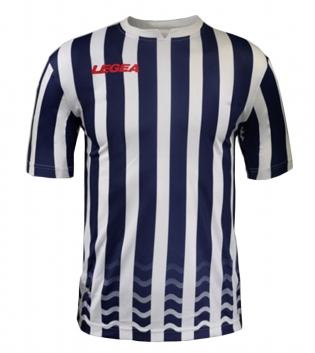 Maglia Uomo Calcio Sport LEGEA Salonicco GOLD Uomo Bambino Sportivo GIOSAL-Bianco-Blu-S