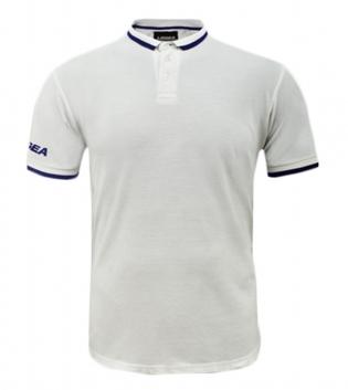 Maglietta Polo Dacca LEGEA Abbigliamento Sportivo Uomo Bambino GIOSAL-Bianco-Blu-3XS