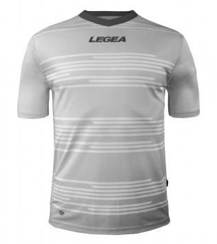 Maglia Uomo Calcio Sport Ankara Abbigliamento Sportivo Uomo Bambino Manica Corta GIOSAL-Bianco-GrigioScuro-2XS