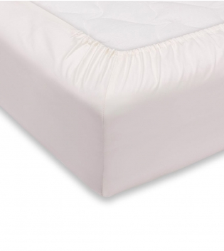 Lenzuolo Sotto Maestri Cotonieri Con Angoli Cotone Matrimoniale Maxi 180x220cm Vari Colori GIOSAL-Bianco