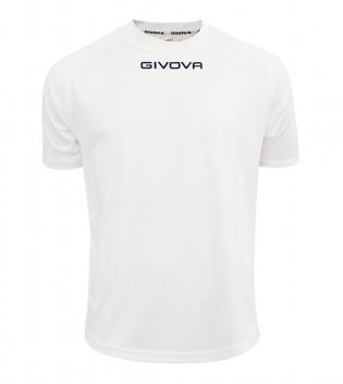 Maglia Calcio Sport GIVOVA One T-Shirt Uomo Donna Bambino Maglietta Abbigliamento Sportivo GIOSAL-Bianco-4XS