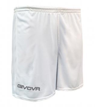 Pantaloncino Sport GIVOVA One Uomo Donna Bambino Sportivo Unisex GIOSAL-Bianco-4XS