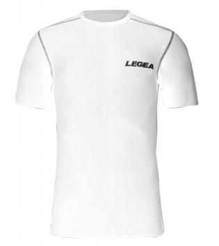 T-Shirt Body Tecnica LEGEA Abbigliamento Sportivo Uomo Bambino Training Sport Allenamento GIOSAL-Bianco-S