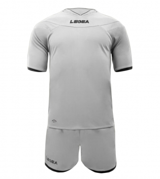 Kit Uomo LEGEA Calcio Completo Sport Uomo Bambino Calcetto Per Squadre GIOSAL-Bianco-3XS