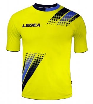 Maglia Uomo Calcio Sport LEGEA Salamanca Abbigliamento Sportivo Uomo Bambino GIOSAL-Blu-Azzurro-S