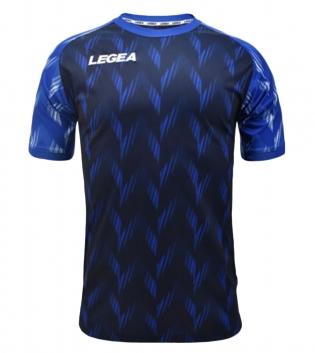 Maglia Calcio Sport LEGEA Girona Manica Corta Abbigliamento Sportivo GIOSAL-Blu-Azzurro-S