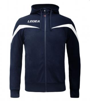 Felpa Uomo Legea Turchia Uomo Bambino Abbigliamento Sportivo Sport Relax GIOSAL-Blu-Bianco-2XS