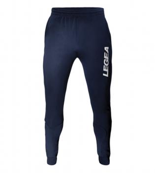 Pantalone Texas Pockets Yuko Zip LEGEA Abbigliamento Sportivo Relax Sport GIOSAL-Blu-Bianco-3XS