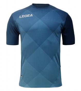 Maglia Uomo Calcio Sport LEGEA Breda Uomo Bambino Abbigliamento Calcistico Sportivo GIOSAL-Blu-BluChiaro-S