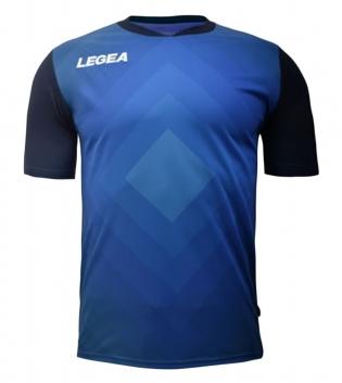 Maglia Calcio Sport LEGEA Norimberga Manica Corta Abbigliamento Sportivo GIOSAL-Blu-Celeste-S