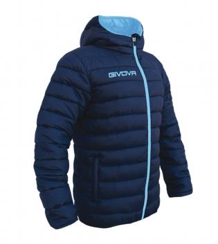 Giubbotto Invernale GIVOVA Olanda Sport Relax Uomo Donna Bambino GIOSAL-Blu/Turchese-S