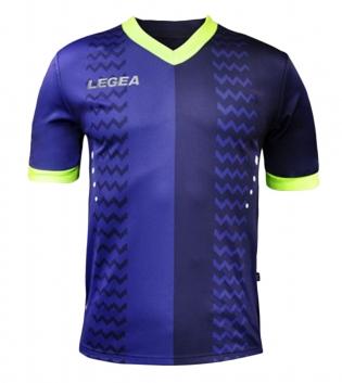 Maglia Calcio Sport LEGEA Uomo Cracovia Gold Uomo Bambino GIOSAL-Blu-VerdeFluo-S