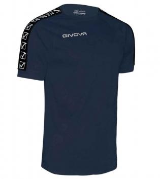 T-Shirt Uomo GIVOVA Sport Cotton Band Uomo Donna Bambino Bande Laterali GIOSAL