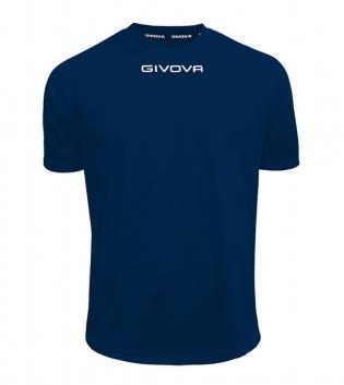 Maglia Calcio Sport GIVOVA One T-Shirt Uomo Donna Bambino Maglietta Abbigliamento Sportivo GIOSAL-Blu-4XS
