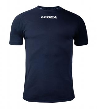 Maglia Uomo Sport Calcio LEGEA Lipsia Abbigliamento Sportivo Calcistico Bambino Uomo GIOSAL-Blu-3XS