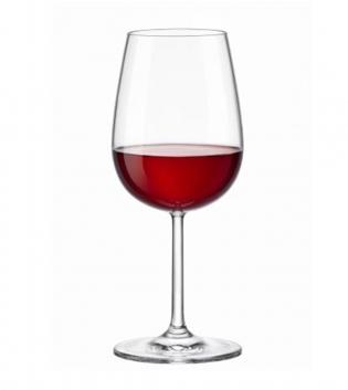 Set di Bicchieri Calice Riserva 6 Pezzi Vino Rosso 43cl Vetro Trasparente Bormioli Rocco GIOSAL
