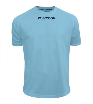 Maglia Calcio Sport GIVOVA One T-Shirt Uomo Donna Bambino Maglietta Abbigliamento Sportivo GIOSAL-Celeste-4XS
