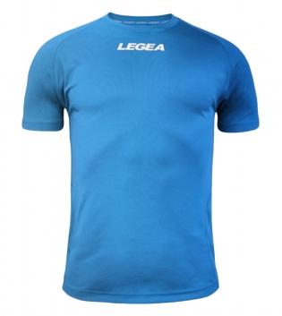 Maglia Uomo Sport Calcio LEGEA Lipsia Abbigliamento Sportivo Calcistico Bambino Uomo GIOSAL-Celeste-3XS