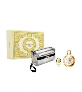 Coffret Donna Cofanetto Versace Eros Pour Femme Eau de Parfum Pochette GIOSAL